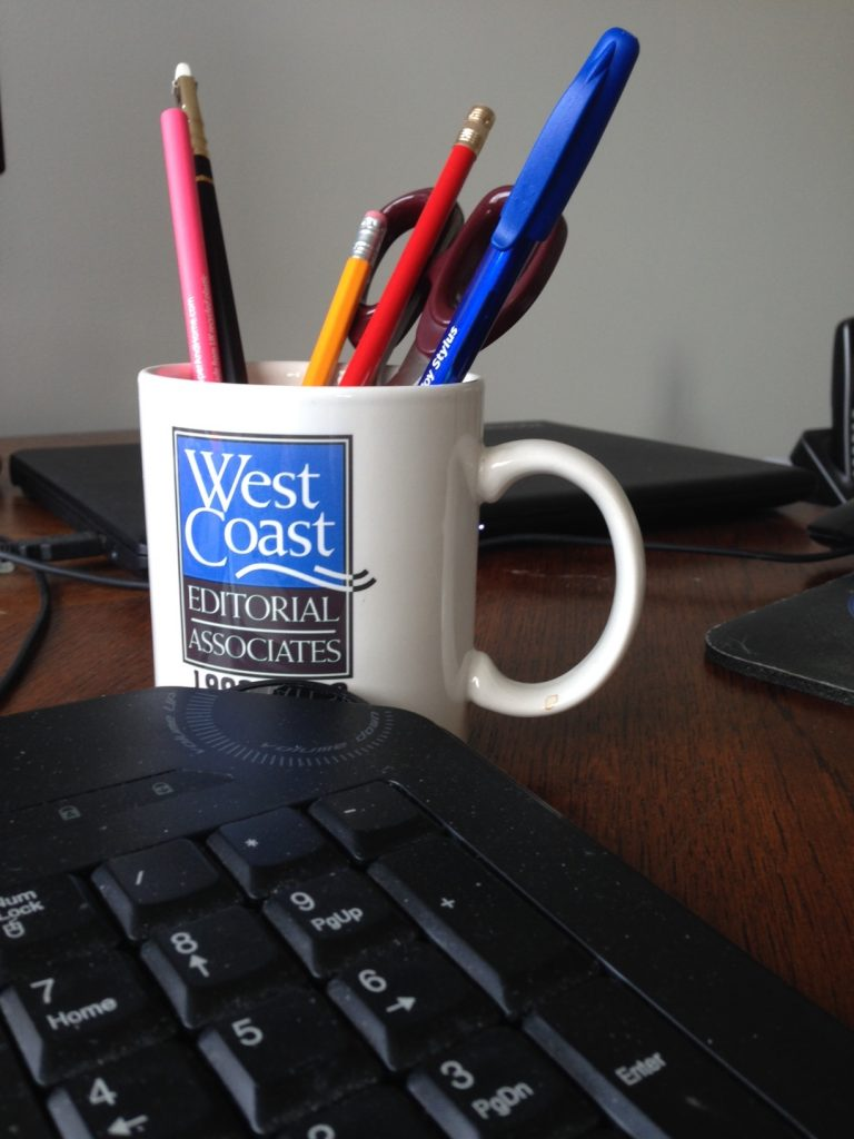 Mug-and-keyboard