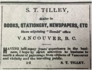 Digging Into The Past Of British Columbia Bookstores