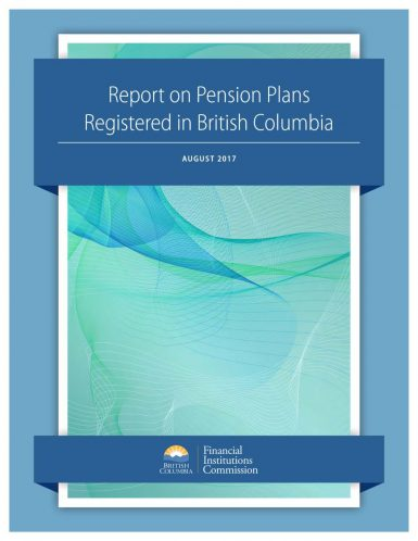 Report on Pension Plans Registered in BC