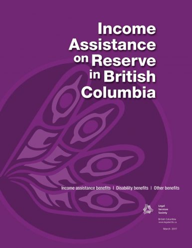 Income Assistance on Reserve in British Columbia